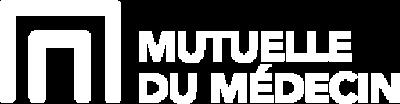 Mutuelle du Médecin logo blanc